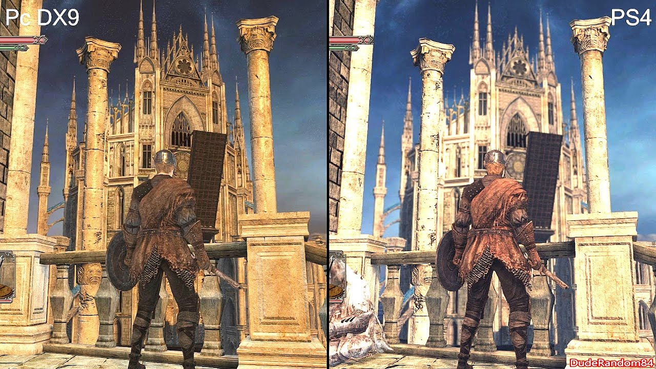 Dark Souls 2 pc Dx9 vs Ps4