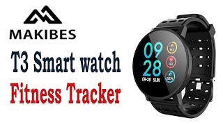 Makibes T3 Smart watch waterproof Fitness tracker