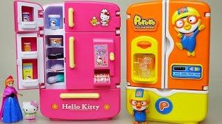 Hello Kitty refrigerator Kitchen toy