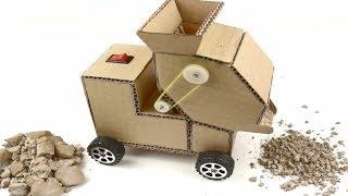 How to make a Crusher Machine from Cardboard