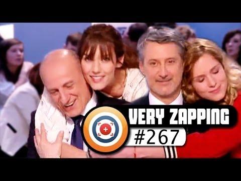 Des calins au Grand Journal, Jamel Debouzze inquiet de quitter sa femme… Veryzapping #267