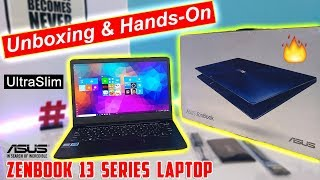 Asus ZenBook 13 (UX331U) Unboxing and Hands On Overview [Hindi]