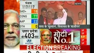 BJP creates history in Uttar Pradesh by winning more than 300 seats