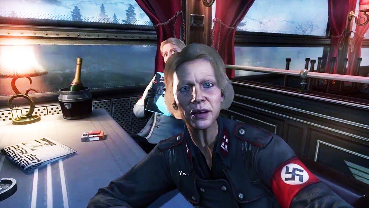 Wolfenstein The New Order Gameplay PS4 - Wolfenstein The New