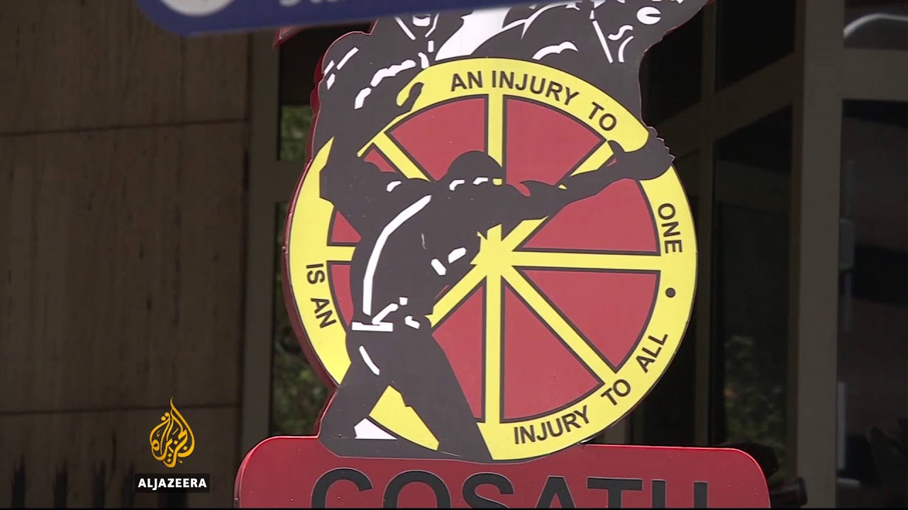 South Africa mining industry hit by job losses