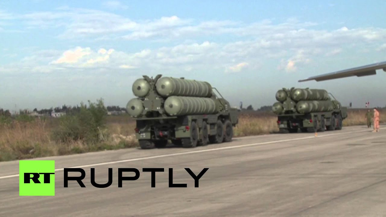 You shall not pass: Cutting-edge Russian air defense system brought to base in Syria