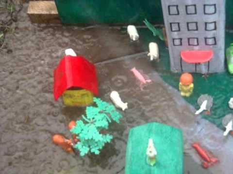 Maqueta de Desastres Naturales 6.E Sociales 2012