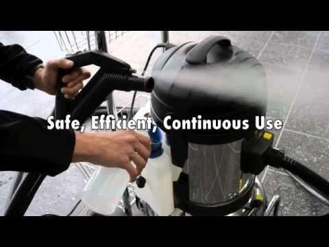 Commercial Steam Vacuum Cleaner - Dupray Carmen Super Inox