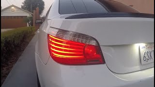 E60 bmw LCI Taillight retrofit