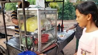 VeasnaTV 11, Cambodia Trip Khmer Food 2019 At Khmer Village Daily News Mew