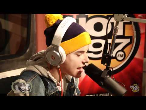 Justin Bieber Exclusive Rap at HOT 97