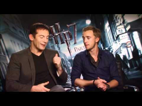 Jim Ferguson Interviews Jason Isaacs and Tom Felton for Harry Potter and the Deathly Hallows pt1