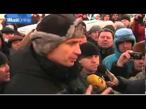 Klitschko brokers ceasefire in Ukraine violence   Mail Online