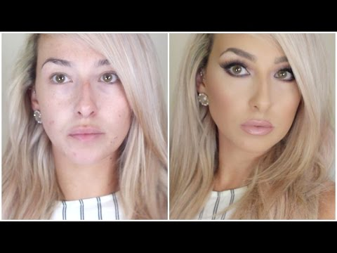 DRUGSTORE long lasting, flawless full coverage foundation routine (not cakey)