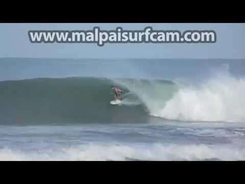 Costa Rica, www malpaisurfcam com 07 04 15 Surfing Mal Pais Santa Teresa
