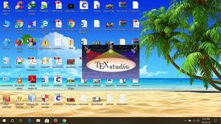 How to install LaTeX (MikTeX) and Texstudio (LaTeX editor) on windows 10
