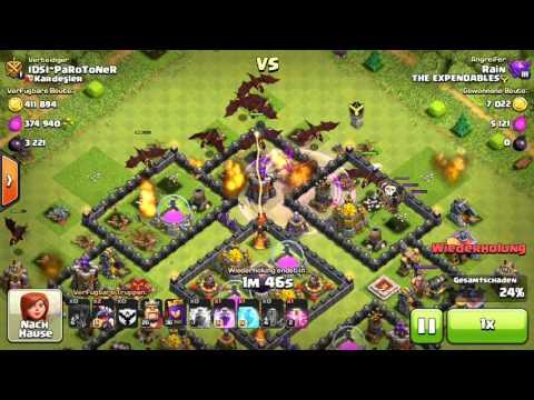 Massendrachen-Angriffe auf Rathaus-Level 10 | Clash of Clans Wiki