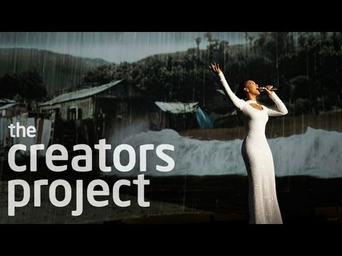 The Technology Behind Beyoncé's World Humanitarian Day 2012 Performance