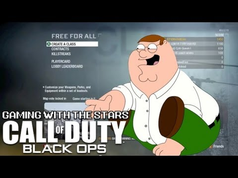Gaming with the Stars - Peter Griffin Plays Black Ops