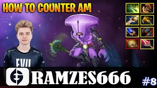 RAMZES - Faceless Void Safelane | HOW TO COUNTER AM | Dota 2 Pro MMR Gameplay #8