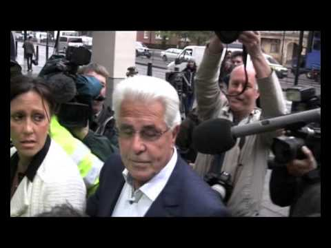 Bill Maloney fights Max Clifford outside Court. National media cover up what really happened.