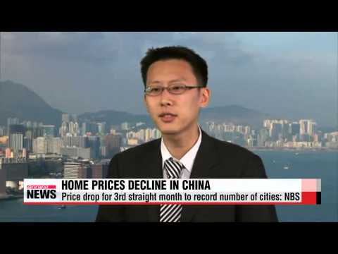 Home prices in China decline for 3rd straigth month
