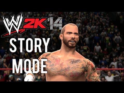 WWE 2K14 - Story Mode