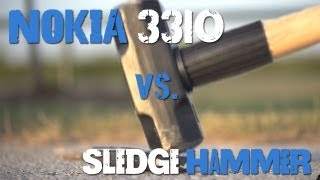 Nokia 3310 Vs. Sledgehammer