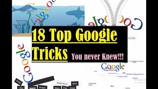 Google Tricks (Google Gravity, Google Underwater, Google Sphere, Google Zipper, Zerg Rush)