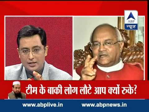 Did not say anything wrong about Kashmir: Journalist Vaidik to ABP News