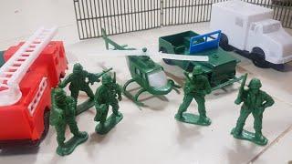 Trò Chơi Xây Dựng Đồn Lính | Kids Toy Media