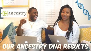 Our Shocking  Ancestry DNA Results!