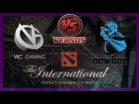 Гранд Финал VG vs NewBee #4 bo5 International 2014 Dota 2 #ti4 RUS