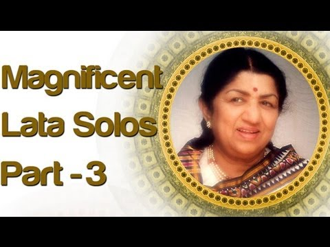 Lata Mangeshkar Solo Superhit Songs - Vol 3 - Old Bollywood...