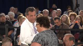 Governor Christie: You'd Be Making My Day