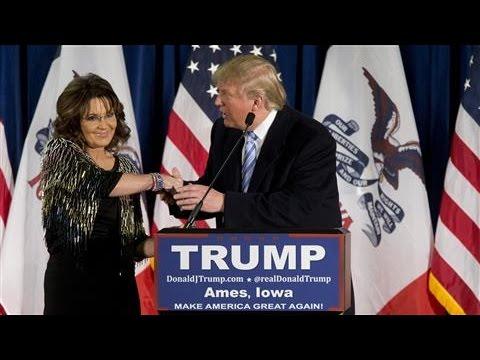 Sarah Palin Endorses Donald Trump for President