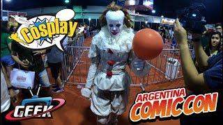 Argentina comic con 2017 los mejores Cosplay
