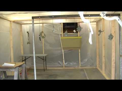 How to Build a Paint Booth in a Garage