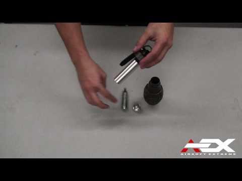 ThunderB Grenades at Airsoft Extreme