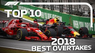 Top 10 Overtakes of 2018
