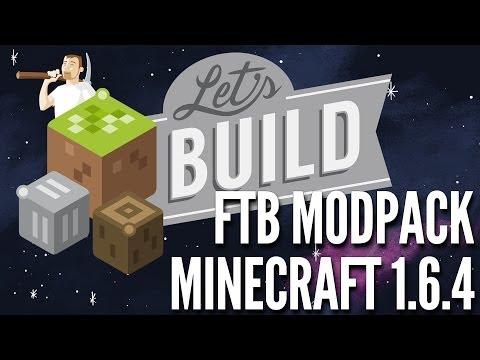 Lextube Let's Build Modpack Overview - FTB Launcher