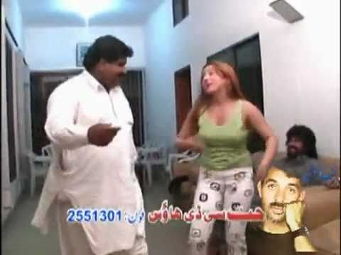 Pashtun girl dance for Pakistani Punjabi man