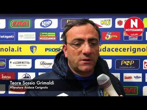 Cerignola-Gragnano 0-2. La sintesi della gara e l'intervista al tecnico Grimaldi