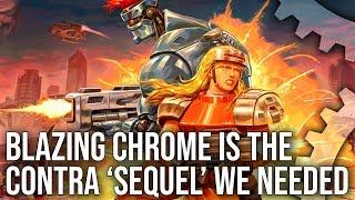 Blazing Chrome is the Contra 'Sequel' We Needed: DF Retro x Modern Analysis!