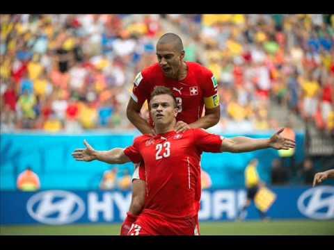 Honduras vs Switzerland 0 - 3 SHAQIRI GOALS & Hightlights