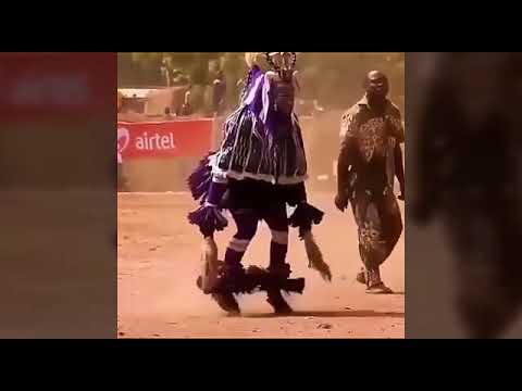 African funny dance with indian beat || indian desi music thumbnail