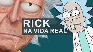 Rick Sanchez in real life - Humanizing Characters (PHOTOSHOP)
