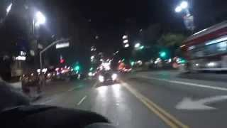 Tonight ofy was on wilshire blvd.
