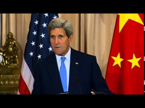 Secretary Kerry Delivers Remarks With Chinese Foreign Minister Yi
