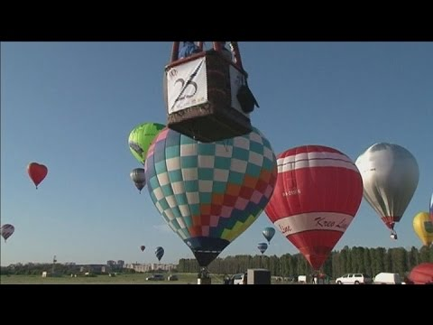 Hot Air Balloon Festival: 54 vessels take to the sky for attempt at world record